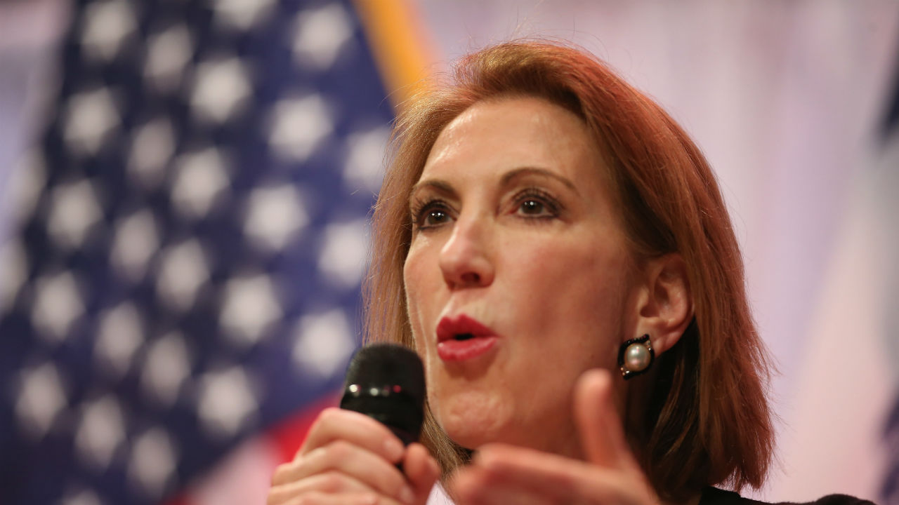 Carly Fiorina, 2016 Republican Presidentail candidate