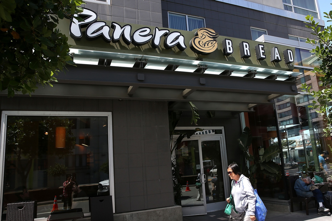 Panera's results were better than Chipotle's.