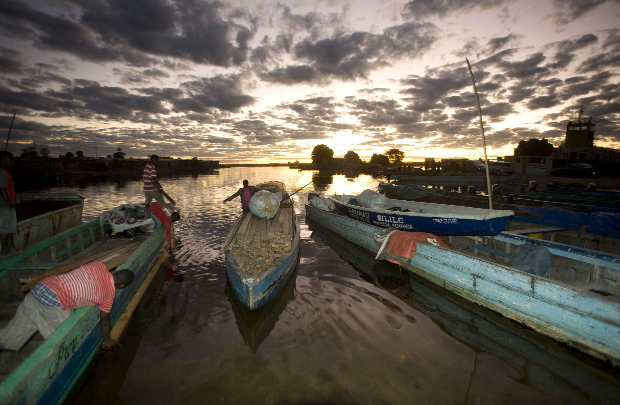 Zambia's only port is being upgraded and made easier to drain during high floods using CIF funds.