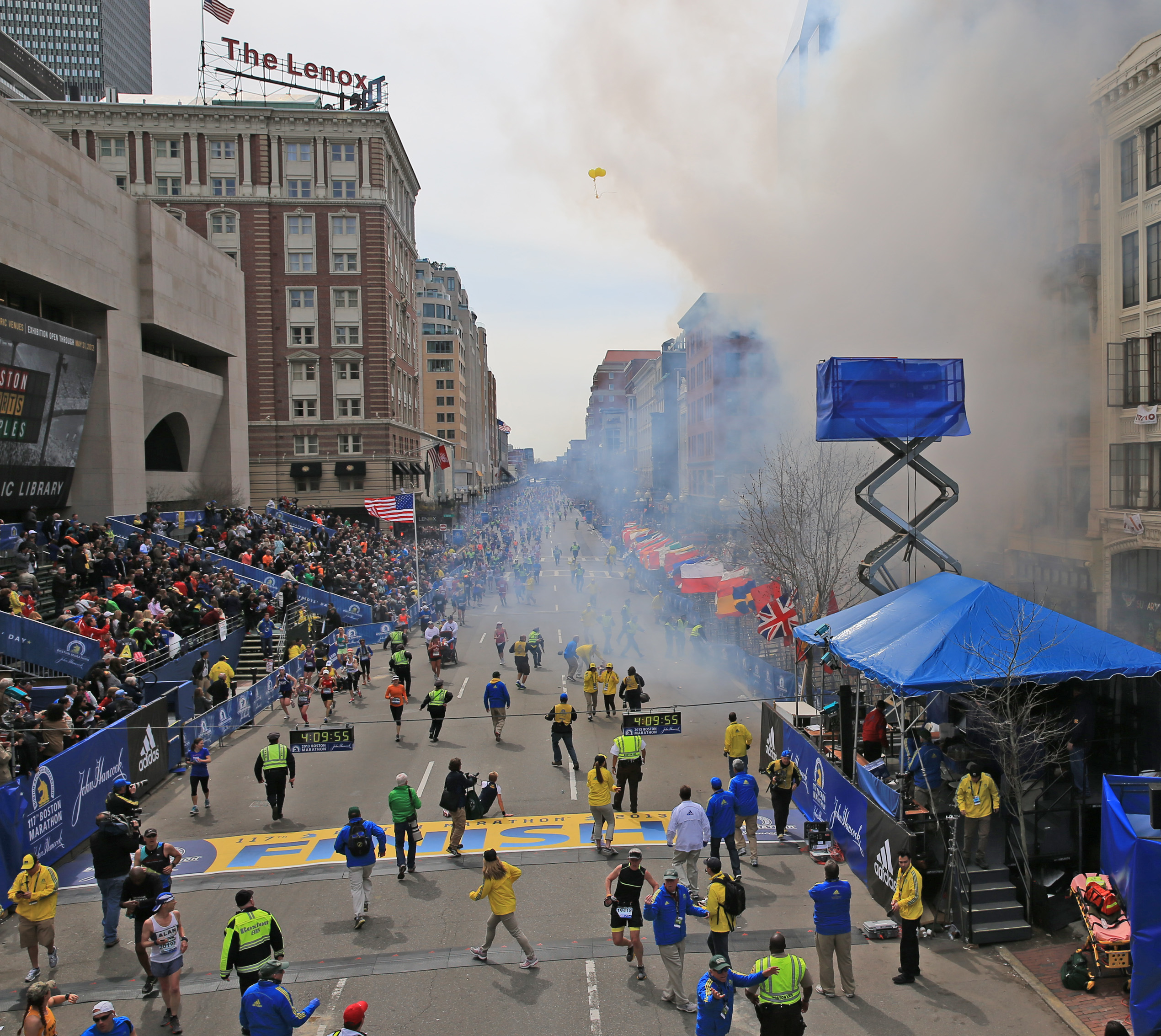 Boston Marathon Bombing 2013