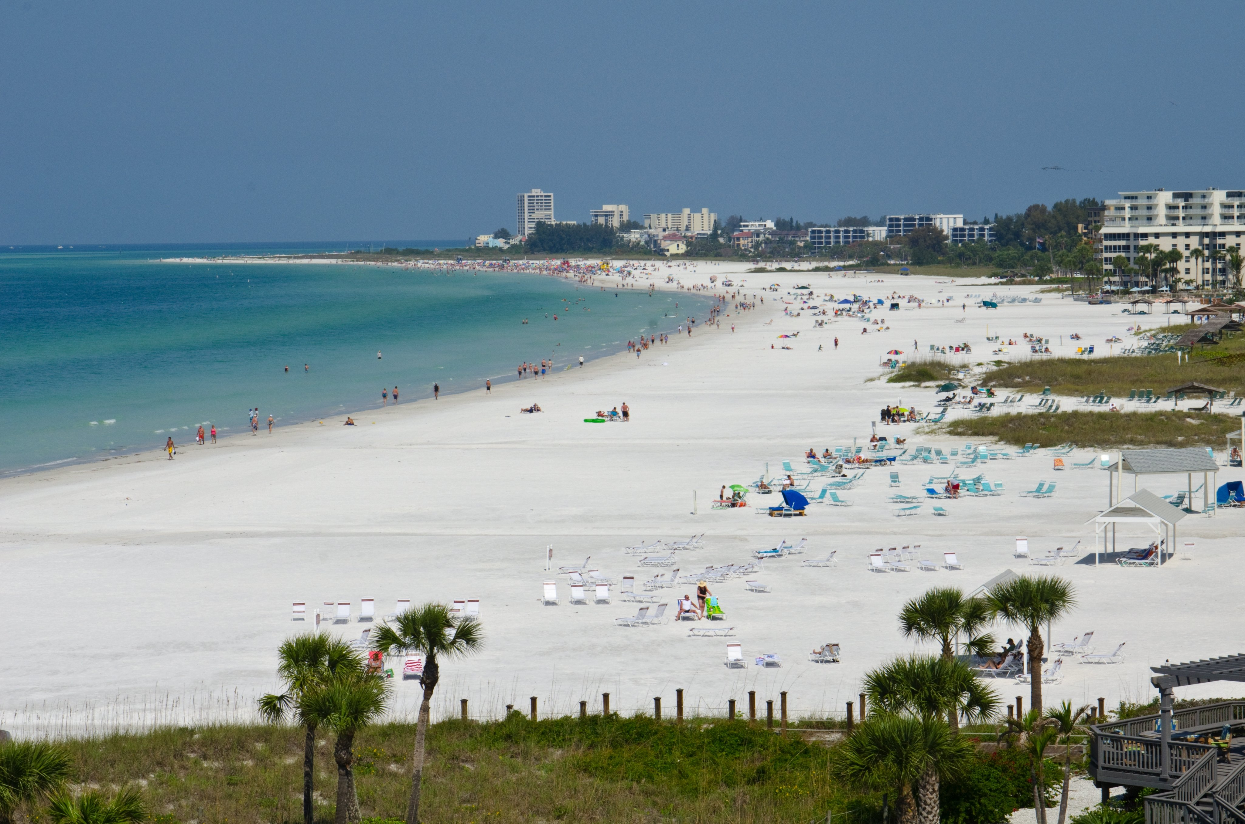 Crescent Beach, Siesta Key, Sarasota, Florida