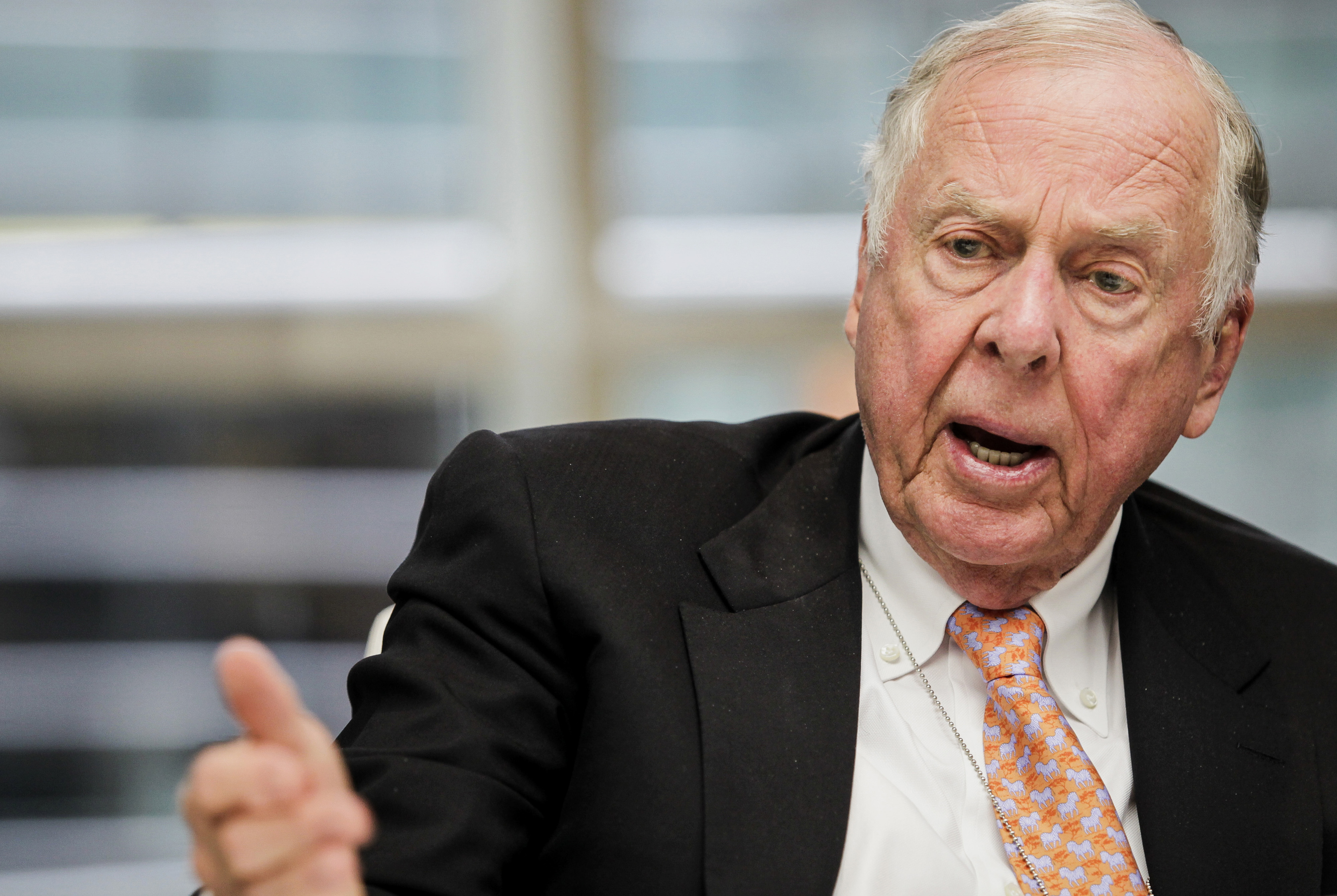 BP Capital Management LP Chief Executive Officer T. Boone Pickens Interview
