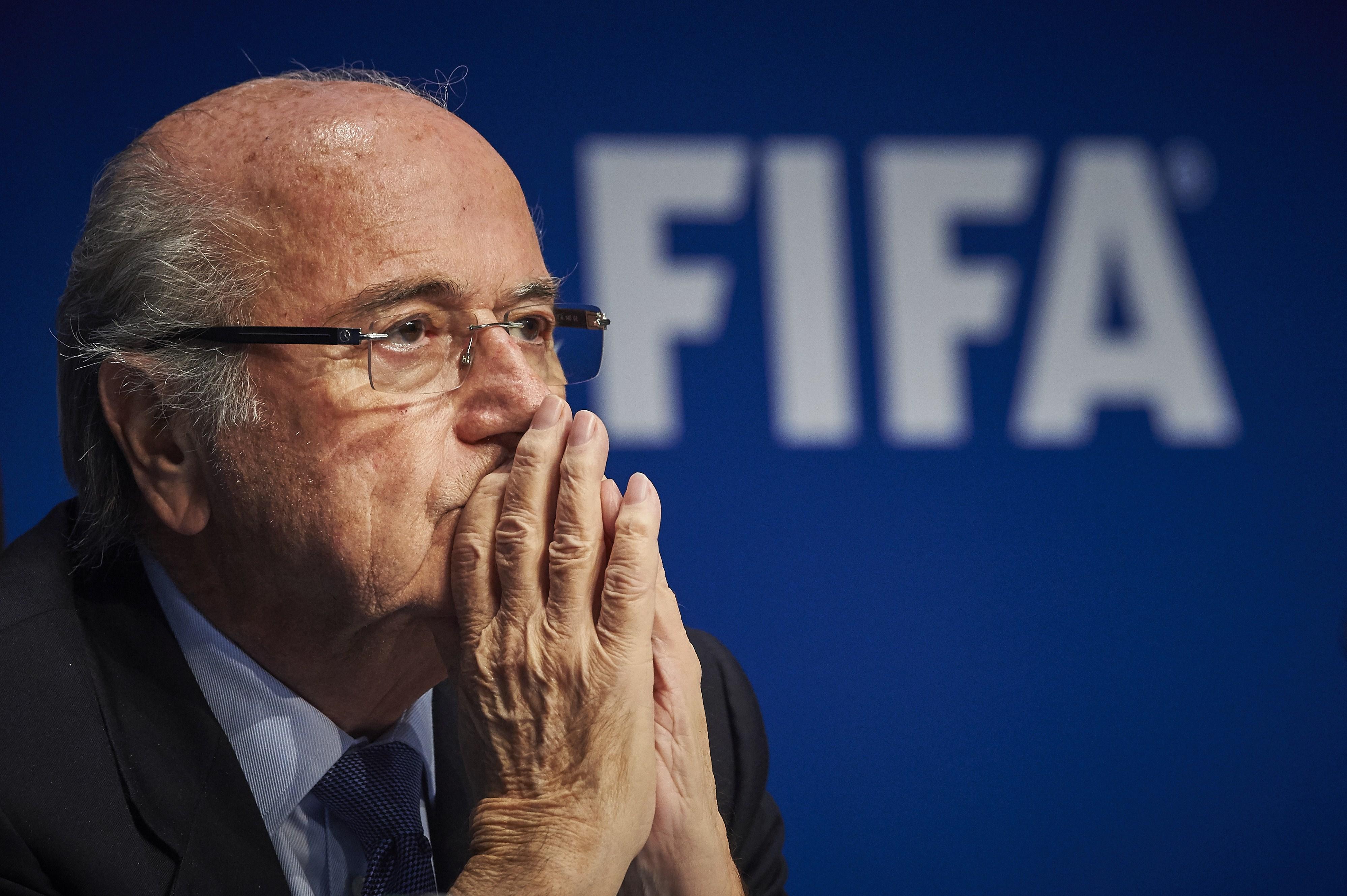 FIFA's president Sepp Blatter.
