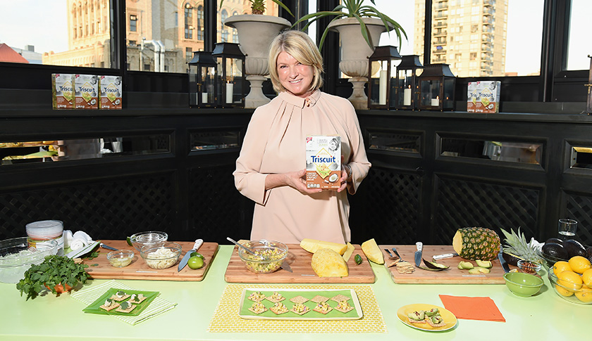 Triscuit Partners With Martha Stewart To Unveil Limited Edition Triscuit Flavor