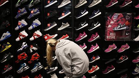 Inside a Foot Locker Inc. Store Ahead Of Earnings