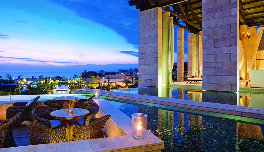 Luxury Collection's Romanos Resort in Greece.
