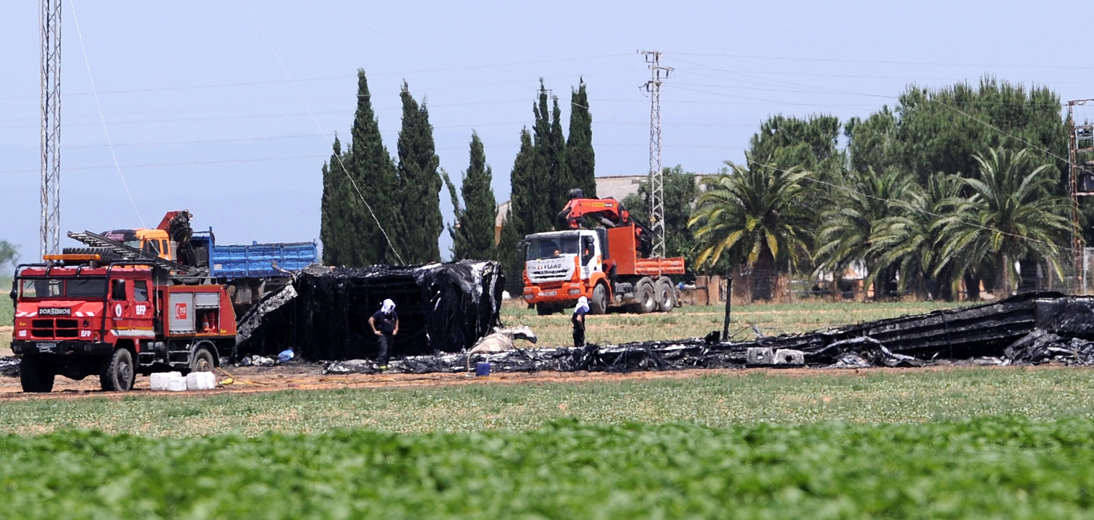 SPAIN-AVIATION-ACCIDENT-AIRBUS