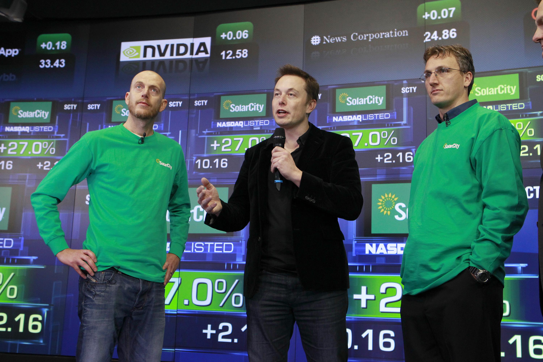 Peter Rive, Elon Musk , Lyndon Rive