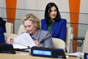 NY: Hillary Clinton Attends Women's Empowerment Princeple