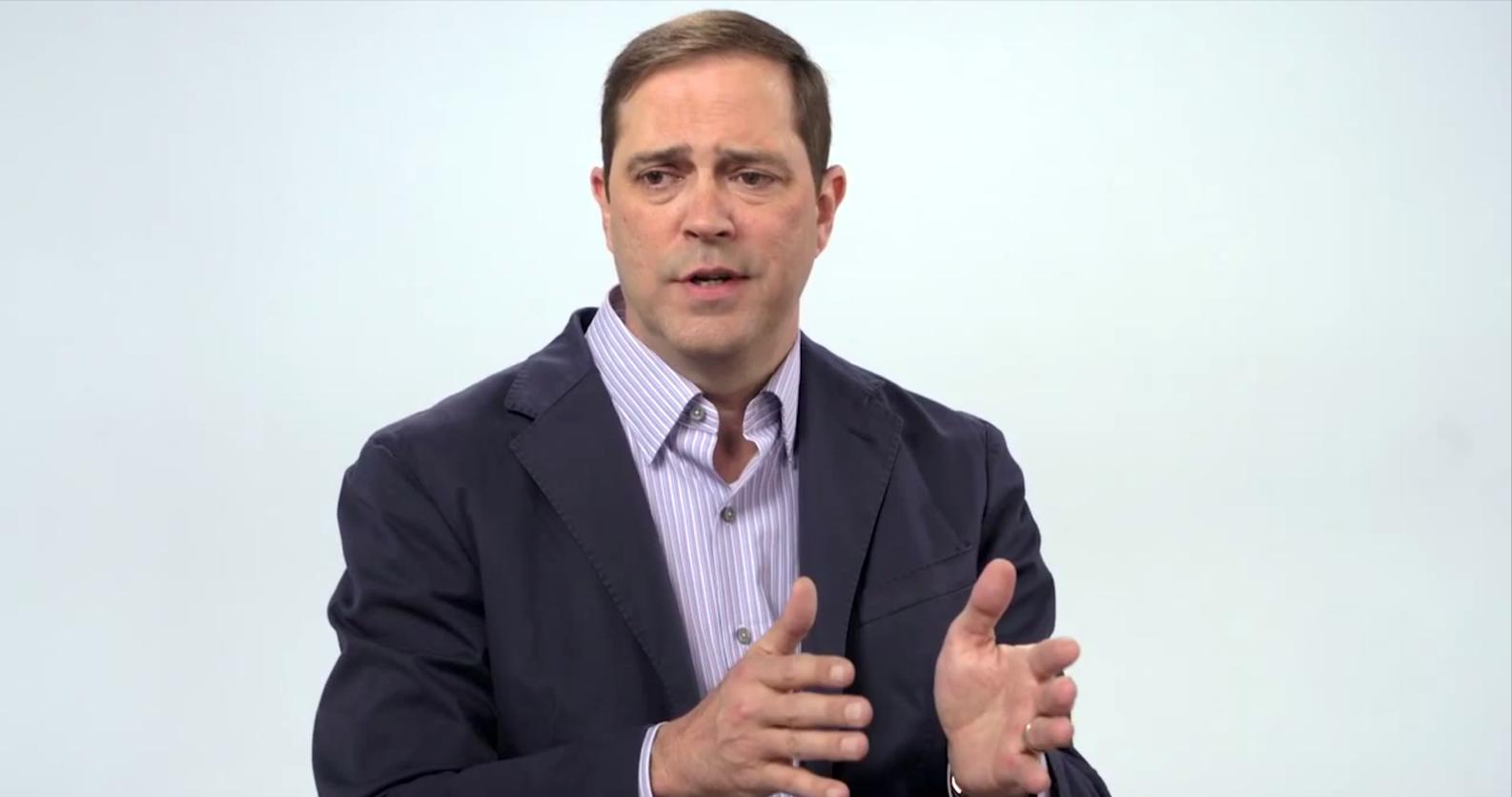 Cisco CEO Chuck Robbins screenshot