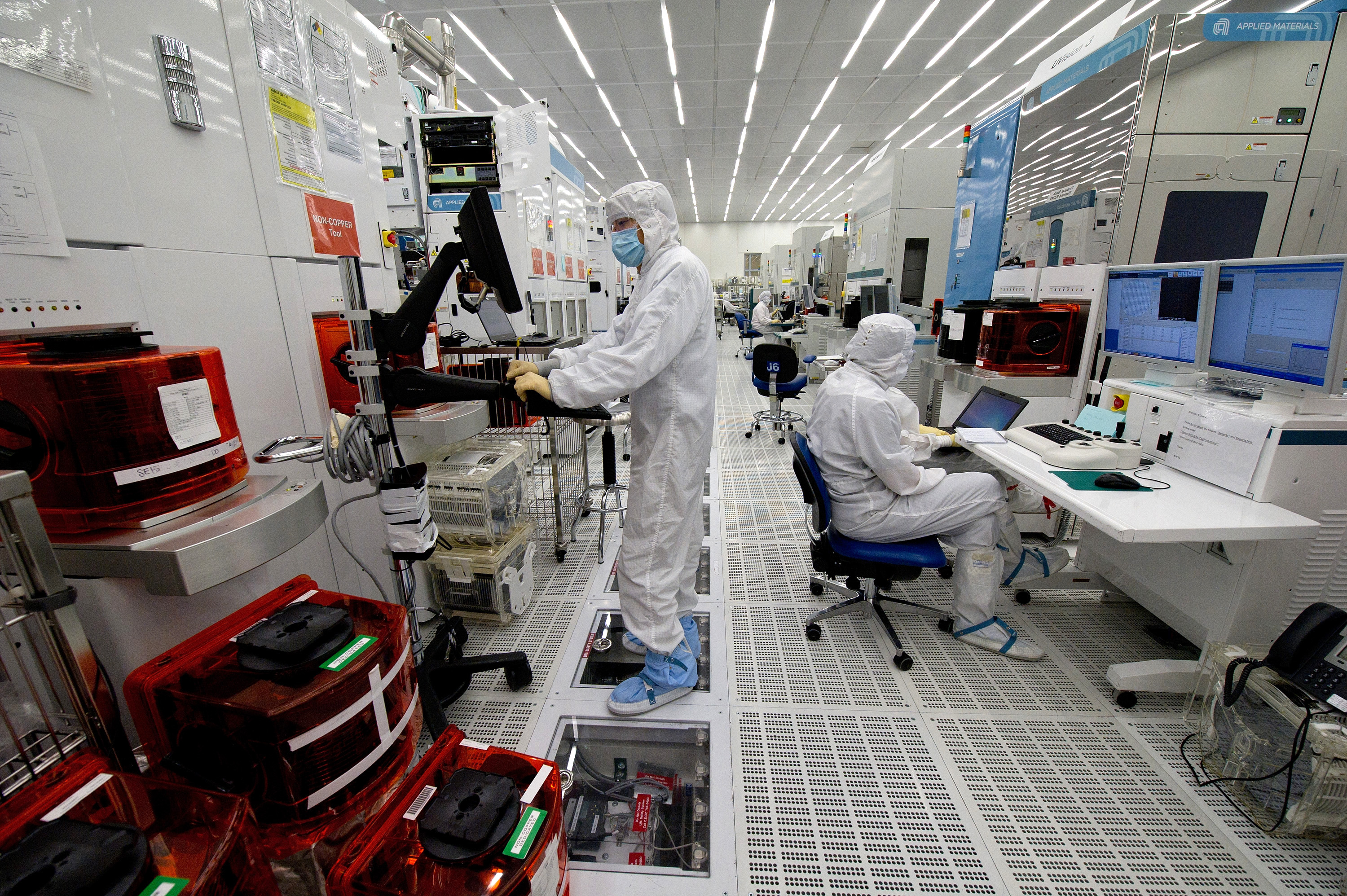 Applied Materials 300mm Wafer Manufacturing Plant