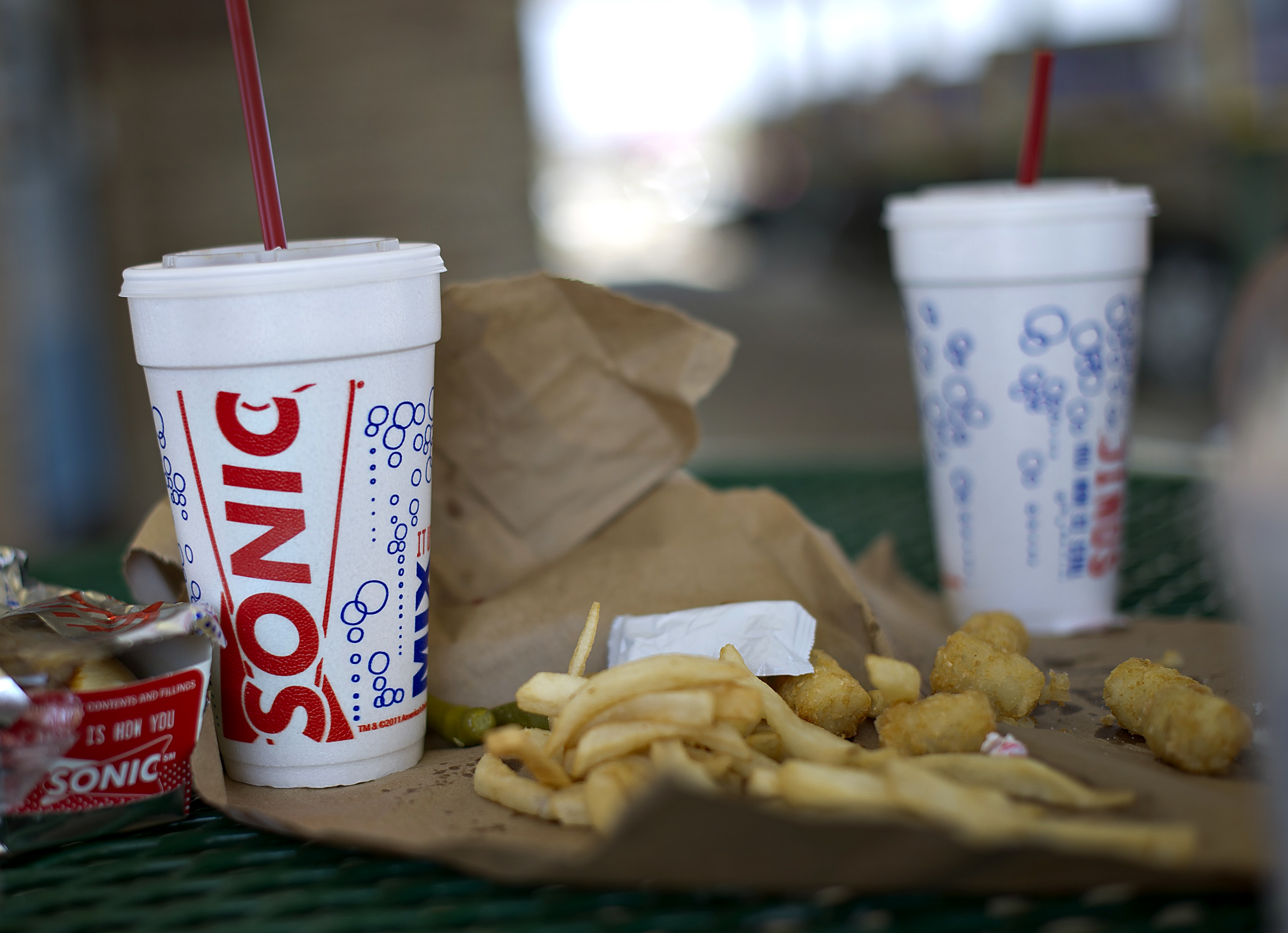General Views From A Sonic Drive-In Ahead Of Earns Reports