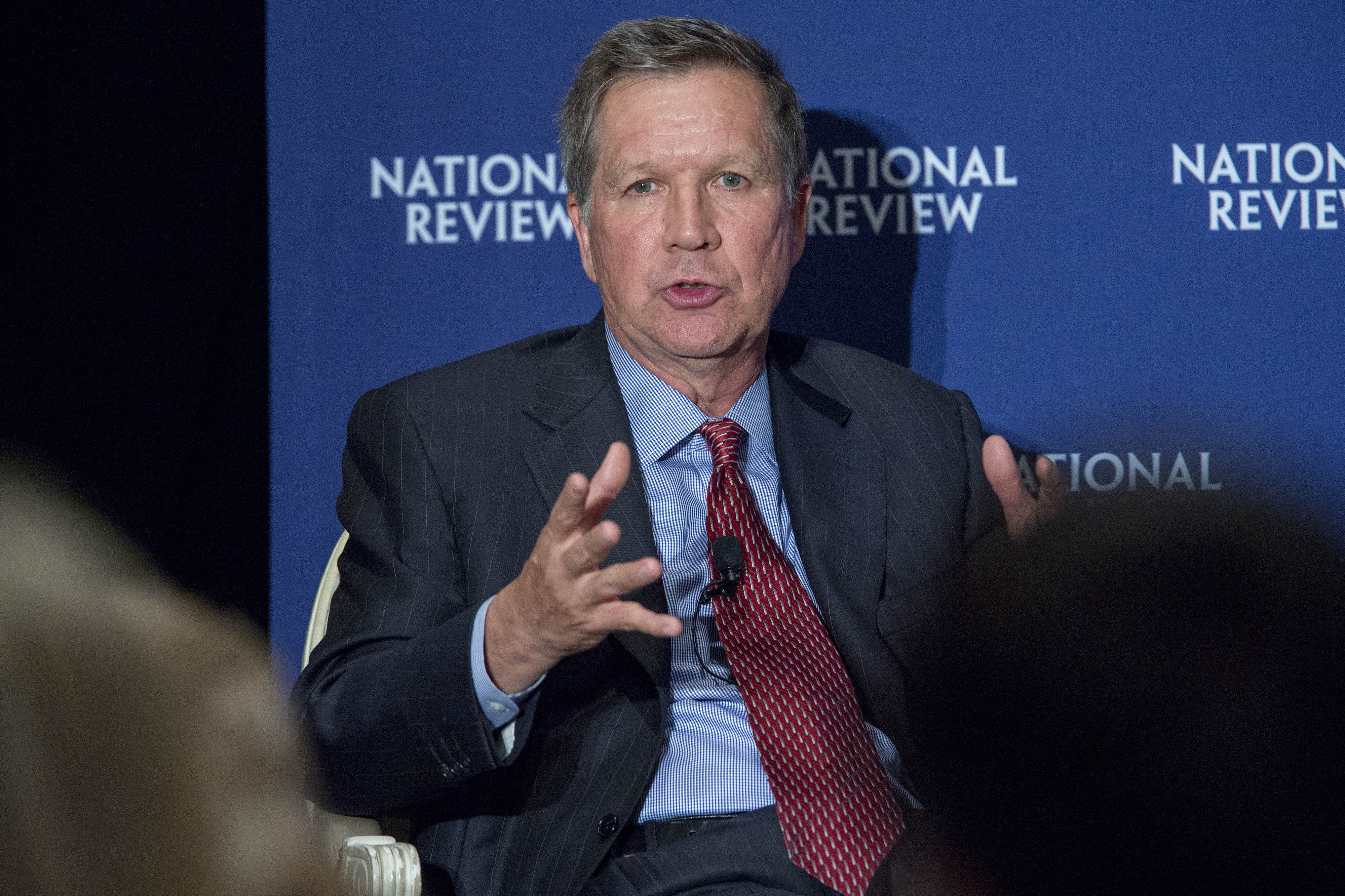 Marco Rubio And John Kasich Speak At National Review Institute 2015 Ideas Summit
