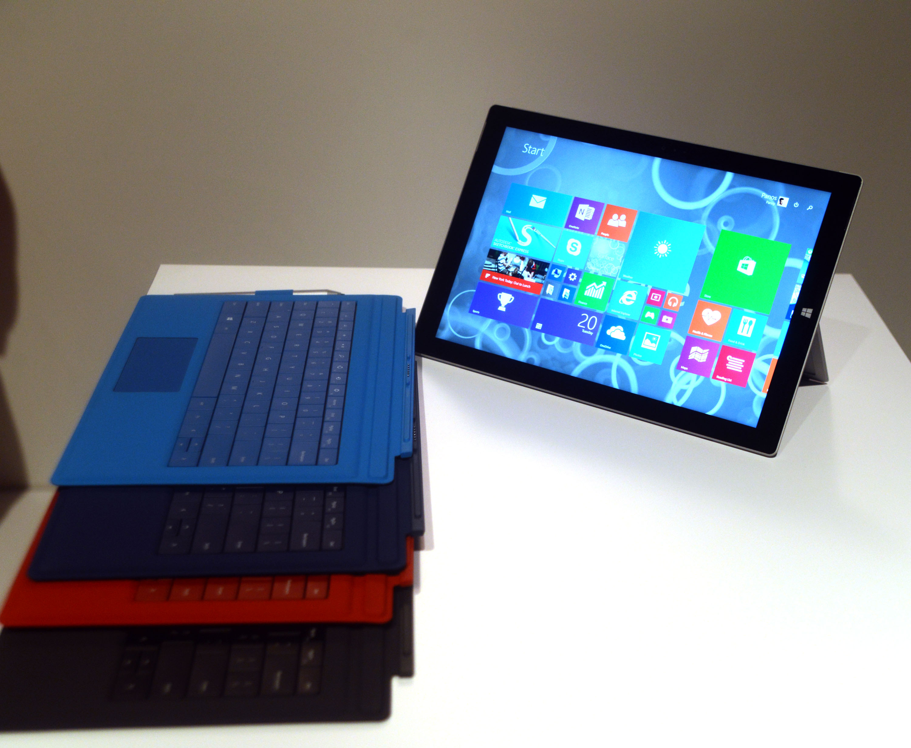 Microsoft PRO 3 Surface Tablet Launch