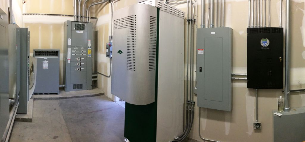 Green Charge Energy Storage Install