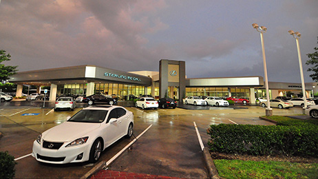 Group 1 Automotive's Sterling McCall Lexus dealership in Houston, Texas.