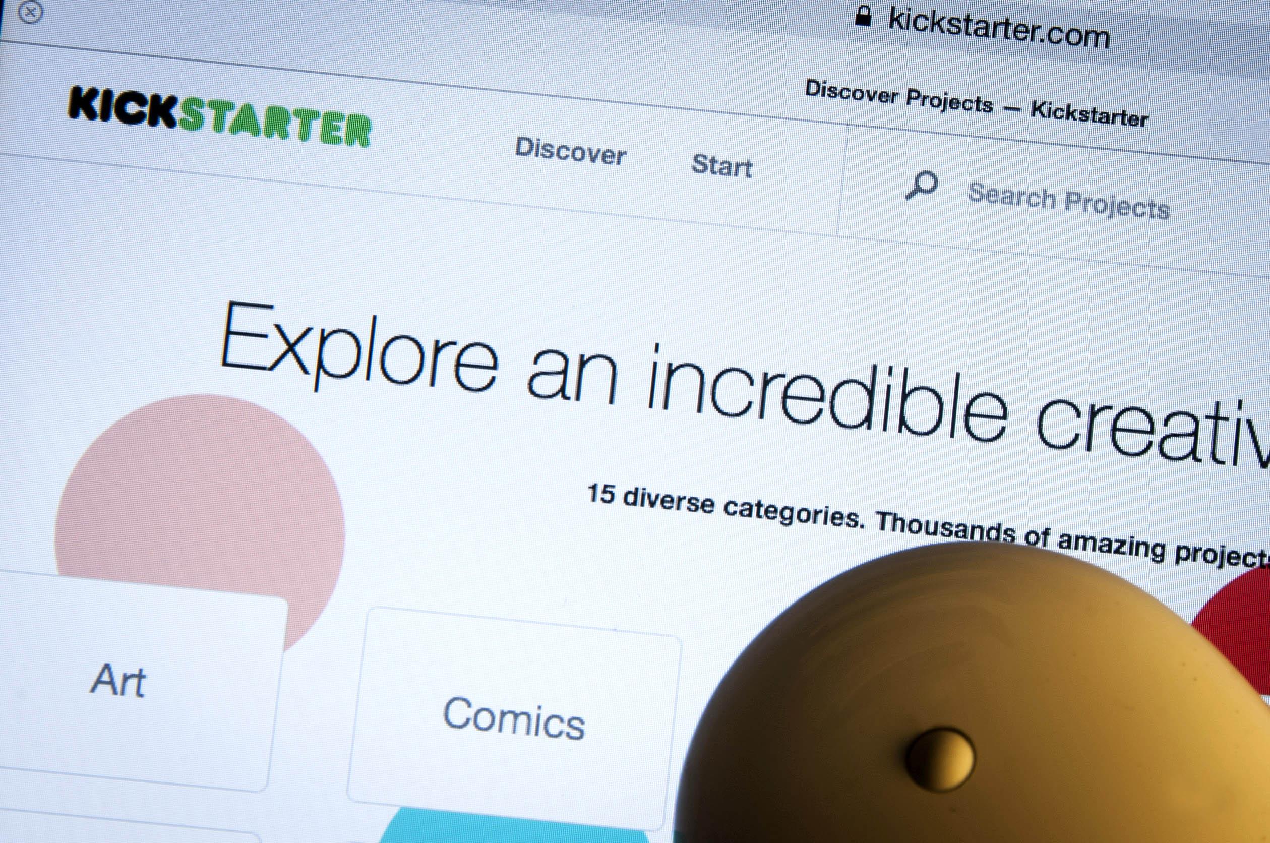 Kickstarter, site web de financemenent participatif