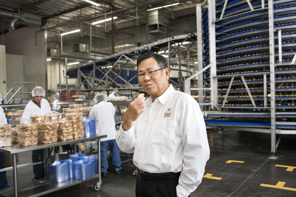 Ly at Sugar Bowl's factory in Hayward, Calif.
