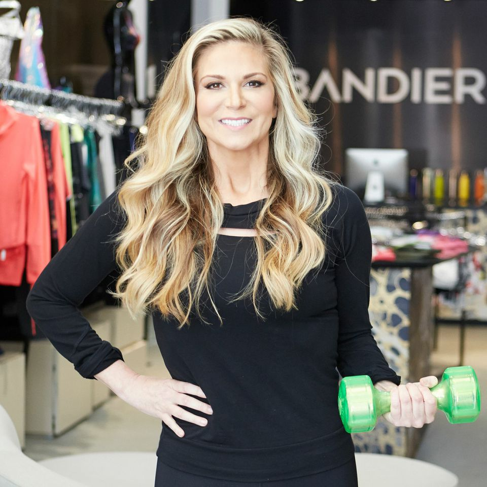 Founder Jennifer Bandier launched her activewear e-store last week.