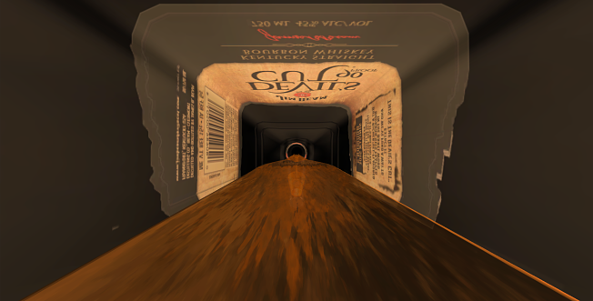 Jim Beam sends customers through a bourbon barrel in VR experience