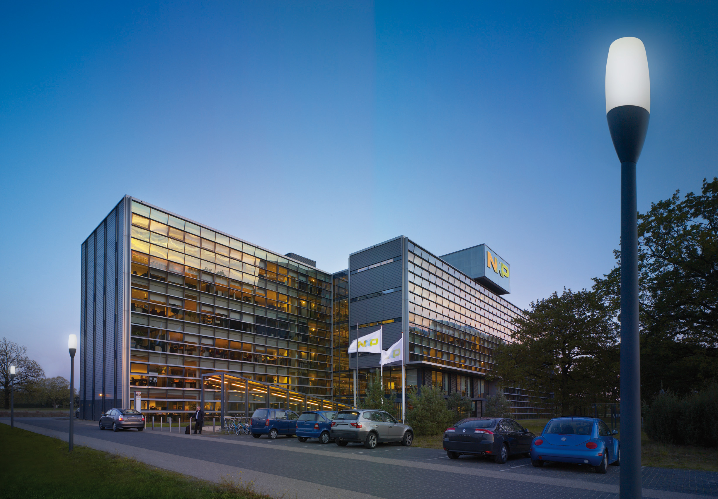 NXP world headquarters.