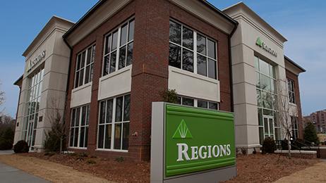 Regions bank in Atlanta, Georgia.
