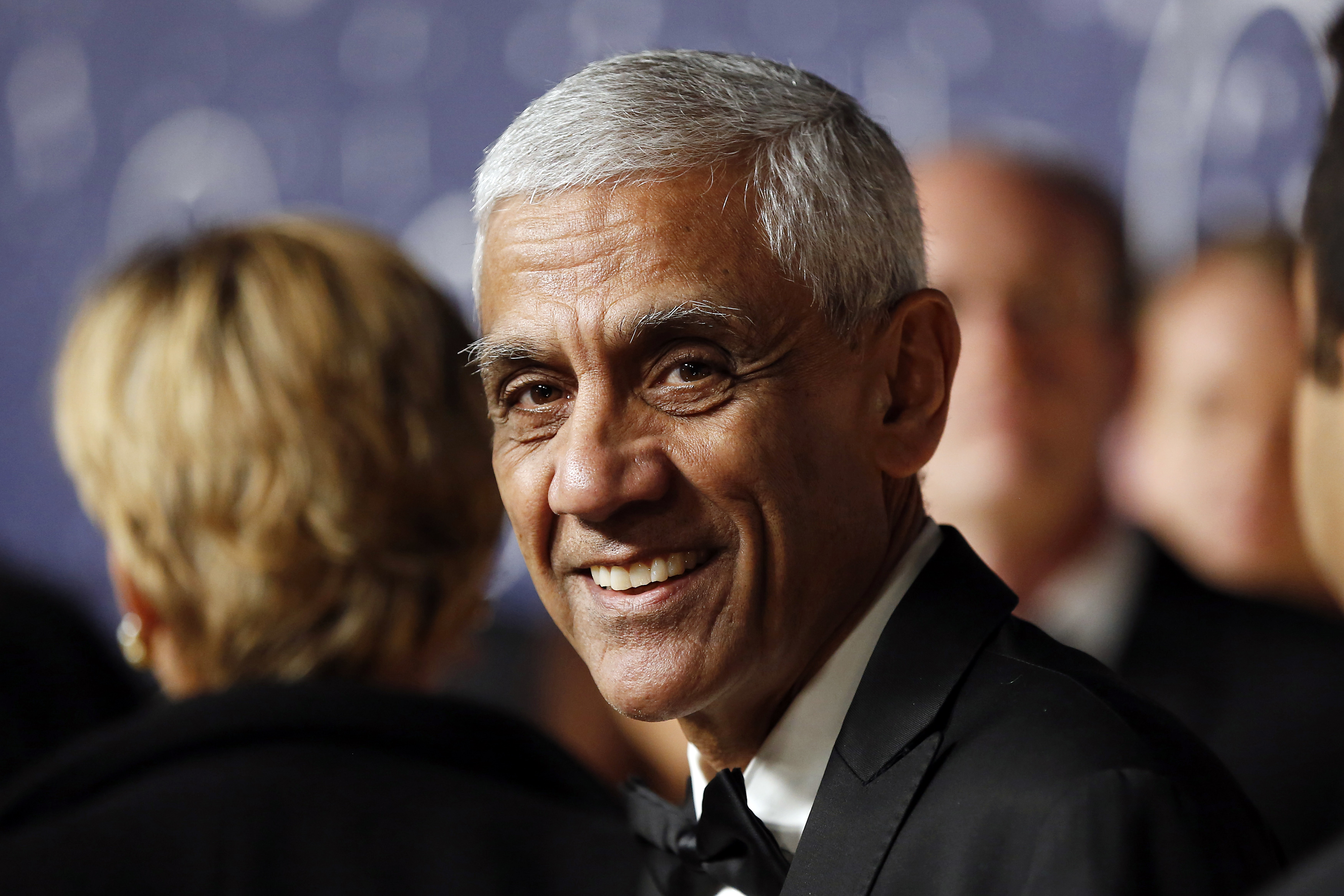 Vinod Kholsa arrives on the red carpet during the 2nd Annual Breakthrough Prize Awards in Mountain View
