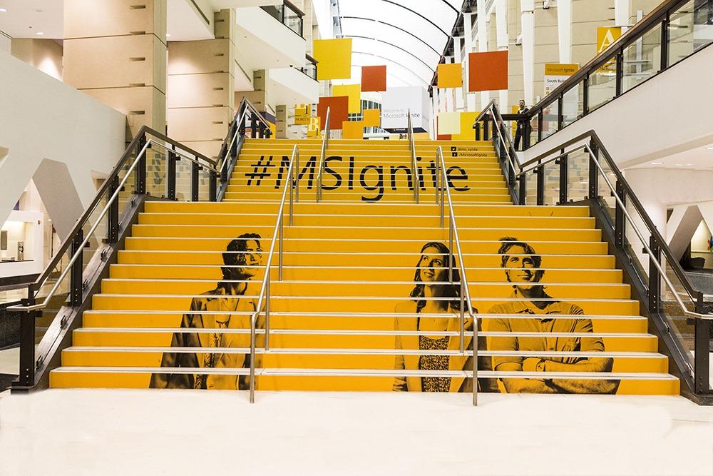 Microsoft Ignite conference.