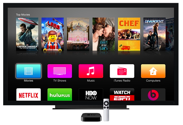 Today's Apple TV (TV set not included).