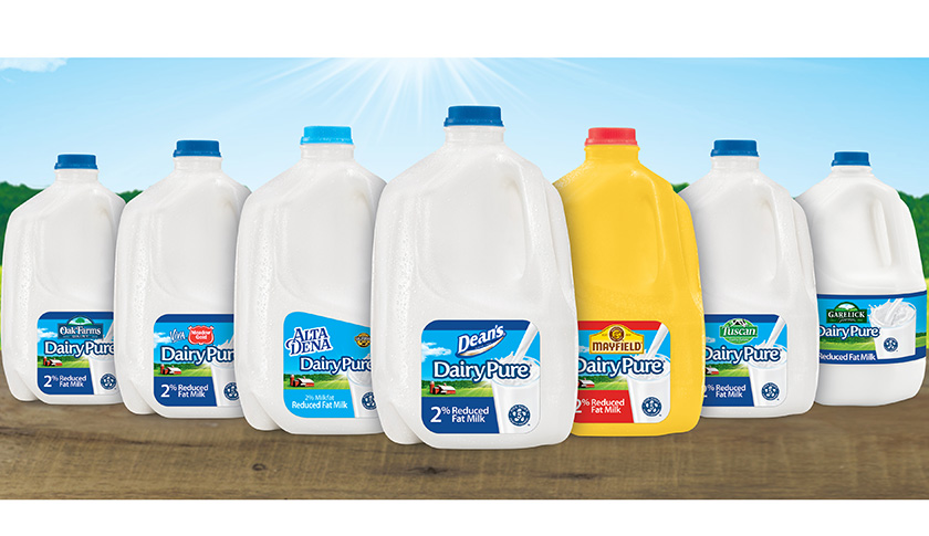 Dean Foods is marketing a national branded milk called DairyPure.