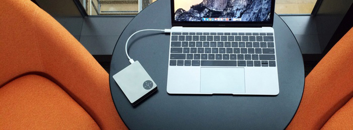 The new Voltus portable MacBook charger (as shown on Voltus' Kickstarter page)
