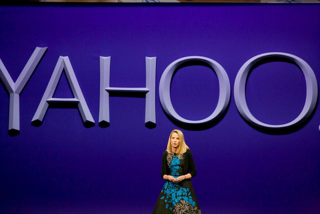 Yahoo NewFront 2015 Marissa Mayer