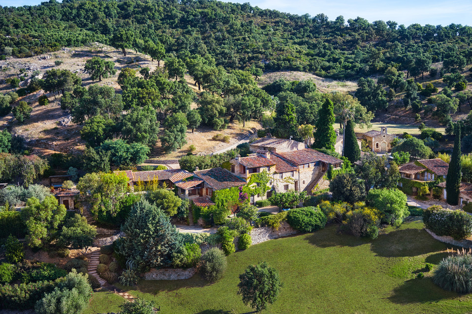 Depp bought an entire French village back in 2001.