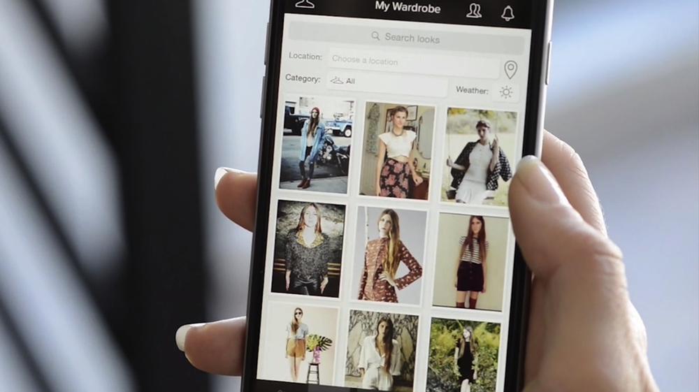 Cloth fashion tech app