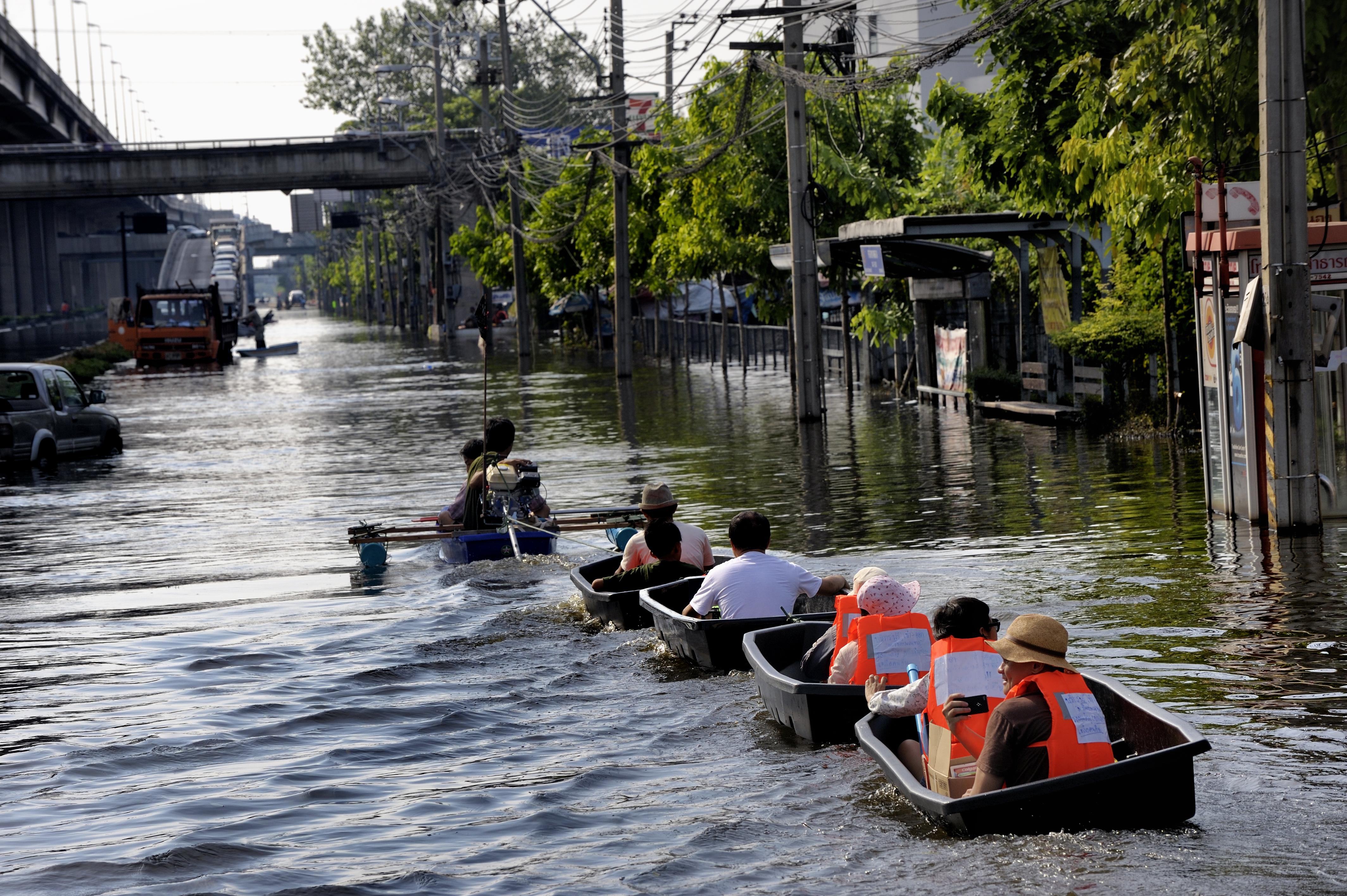 Thailand Floods 2011