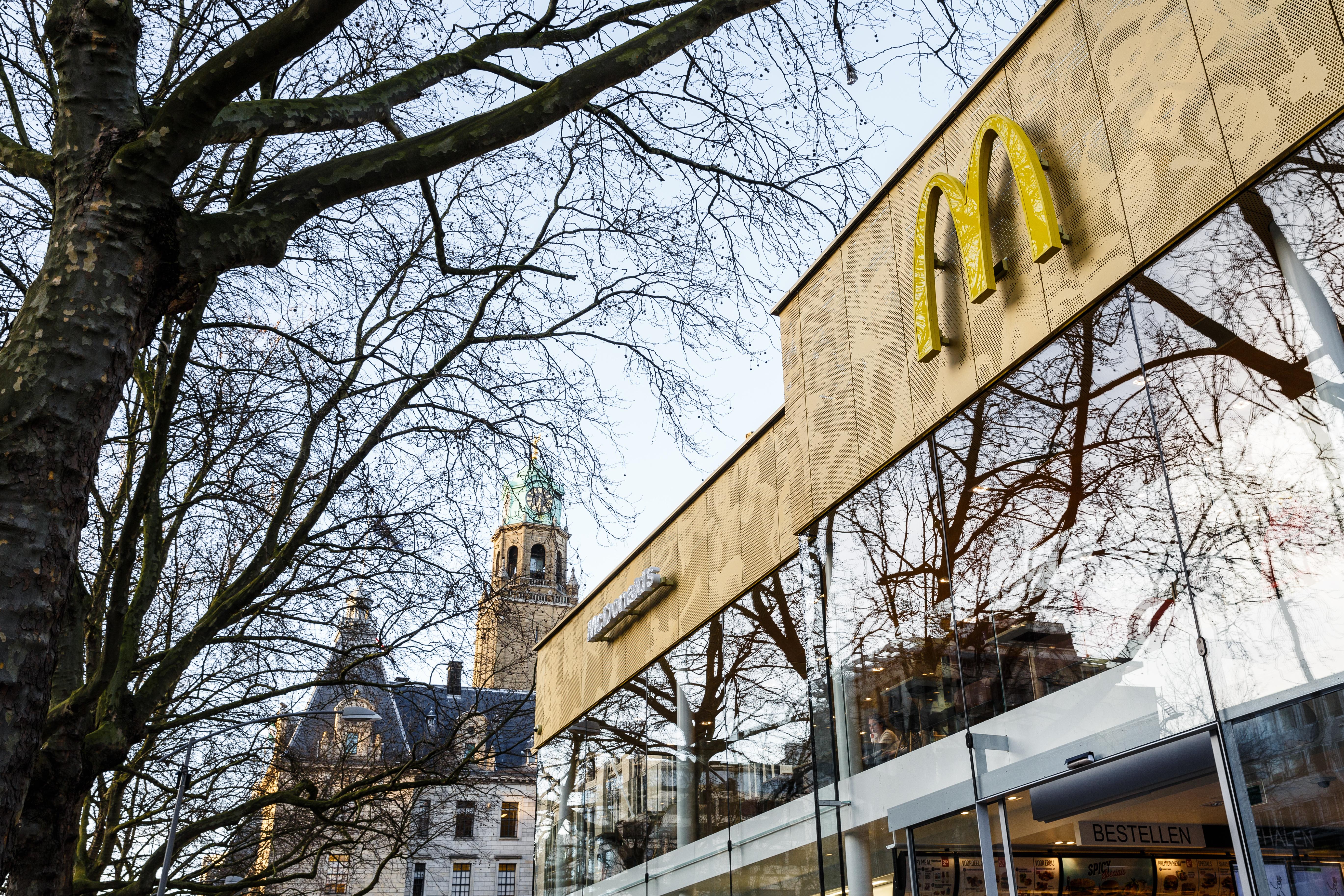 McDonalds Netherlands Exterior