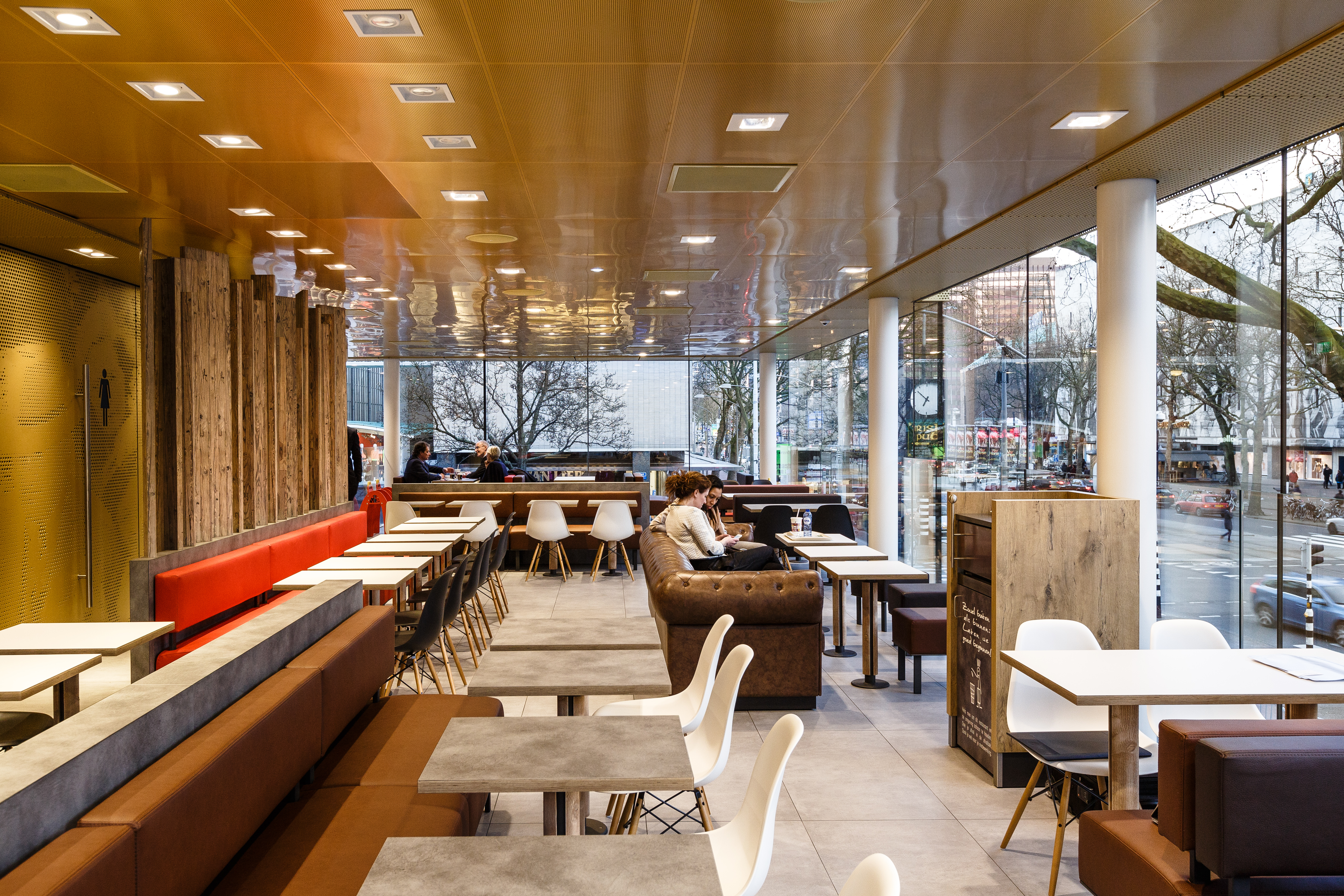McDonalds Netherlands Interior