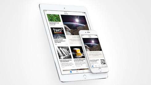 Apple News app.