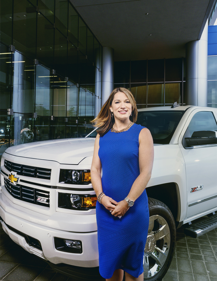 Sheri Hickok, General Motors