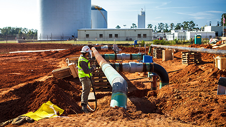 AGL ResourcesConstructionJohn Sommerholder CEOphotos by Christopher T Martinwww.christophertmartin.com