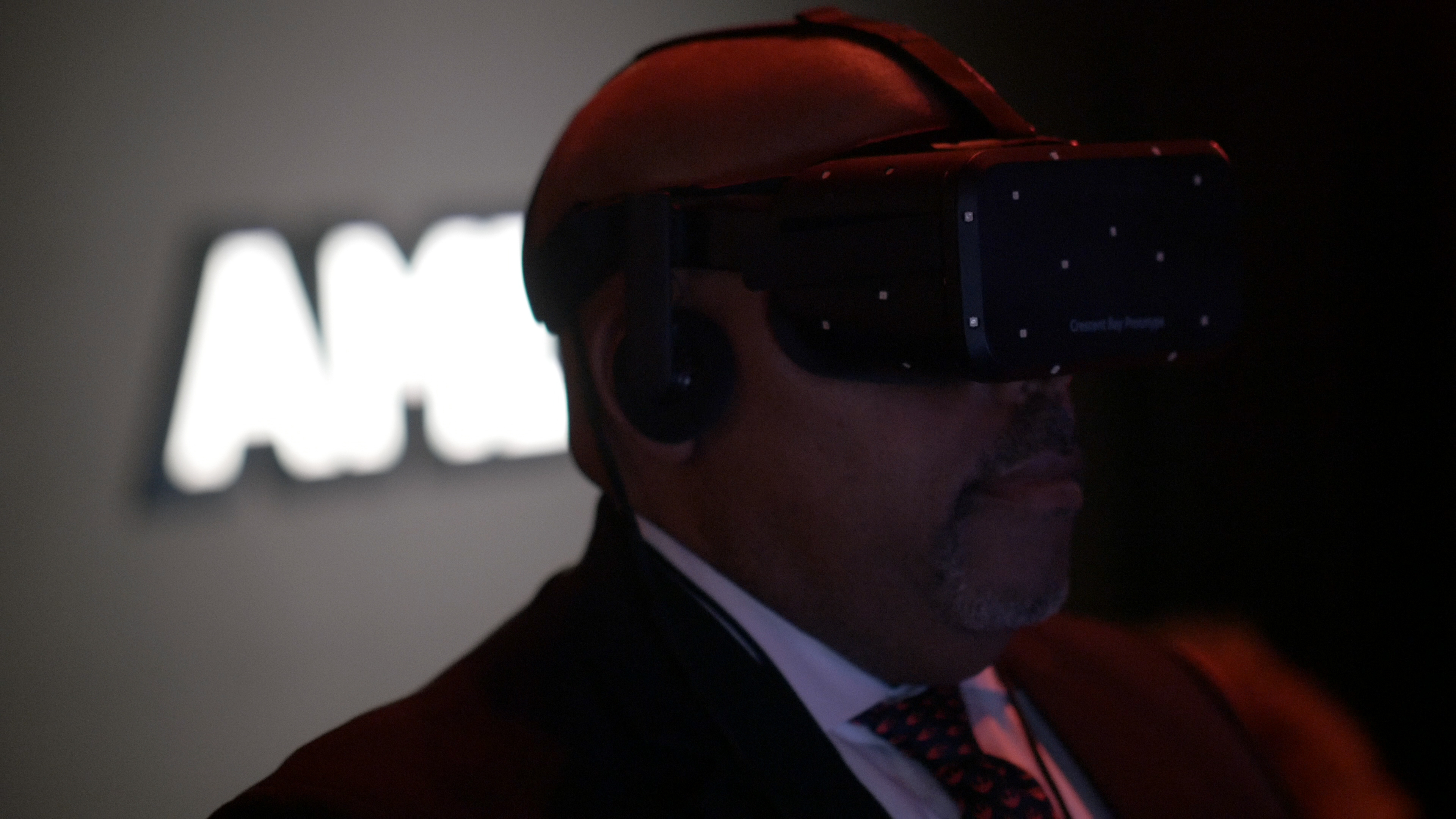 AMD is investing in virtual reality across games, entertainment and education.