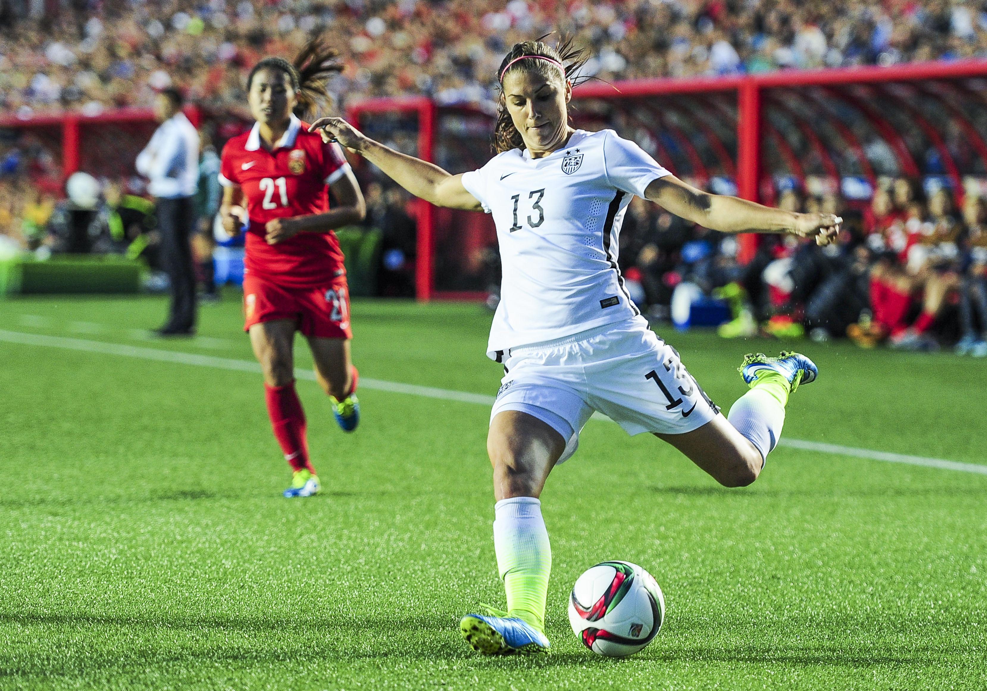 SOCCER: JUN 26 FIFA Women's World Cup - Quarter-Final - China v USA