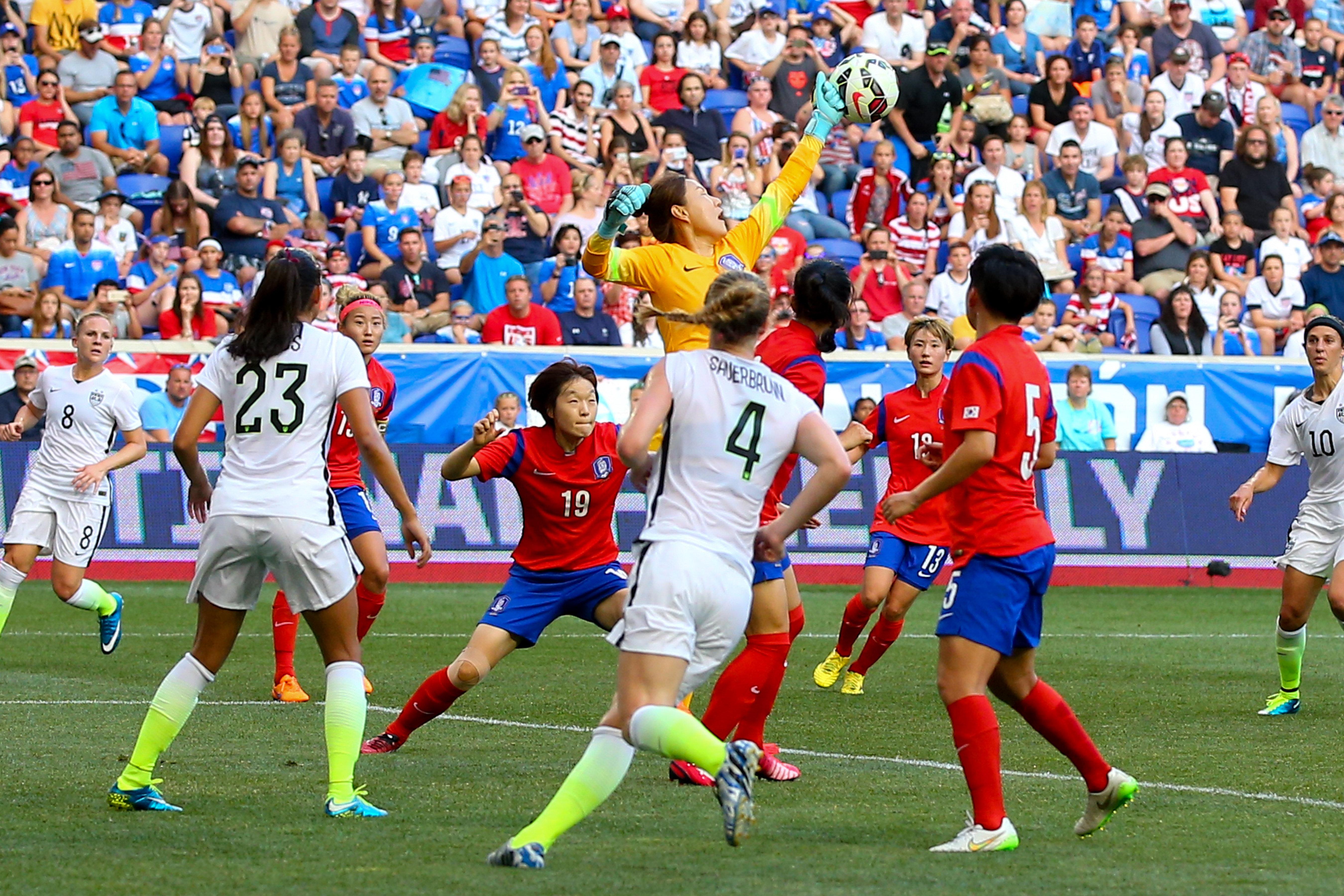 SOCCER: MAY 30 Women's - USA v Korea Republic