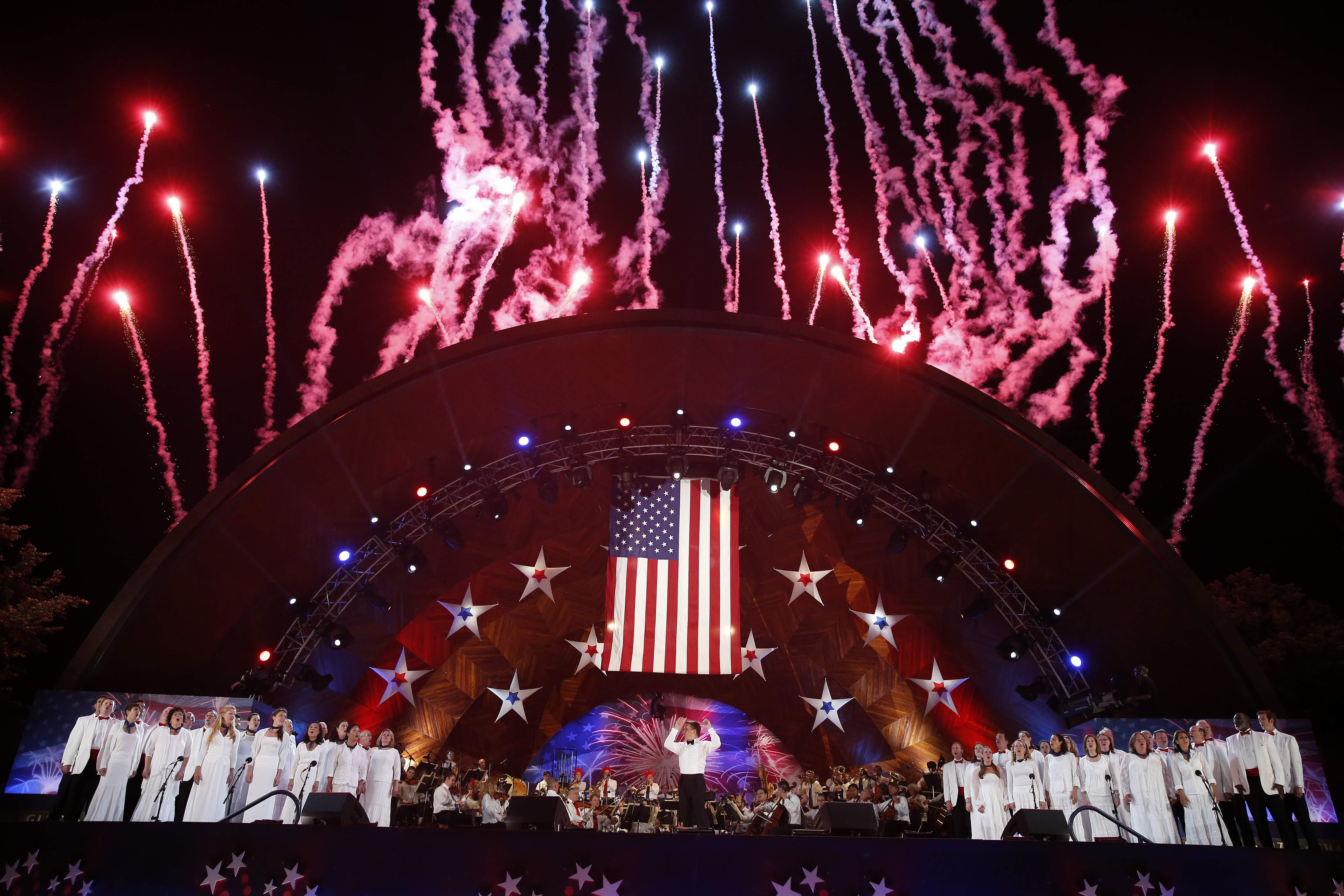 Boston Fourth of July Celebration