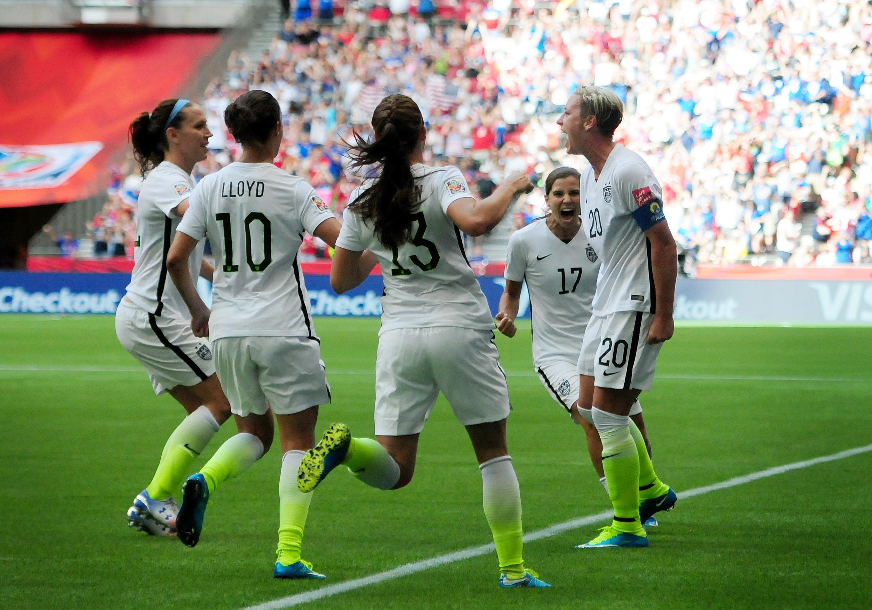 SOCCER: JUN 16 FIFA Women's World Cup - Group D - Nigeria v USA