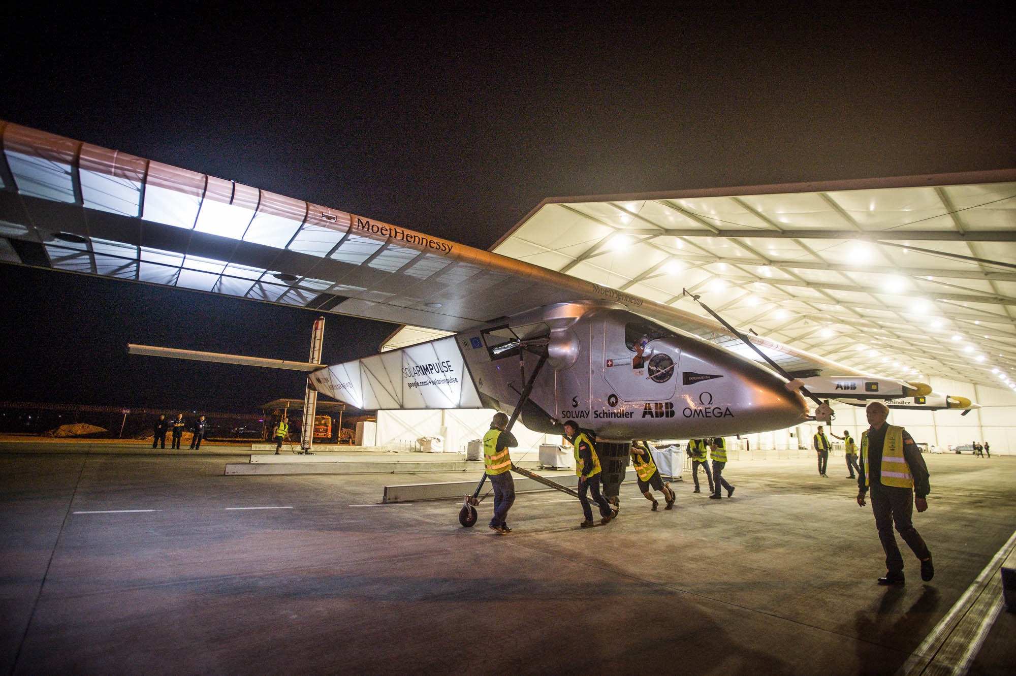 Solar Impulse crosses China: Sixth leg of groundbreaking round-the-world flight is completed