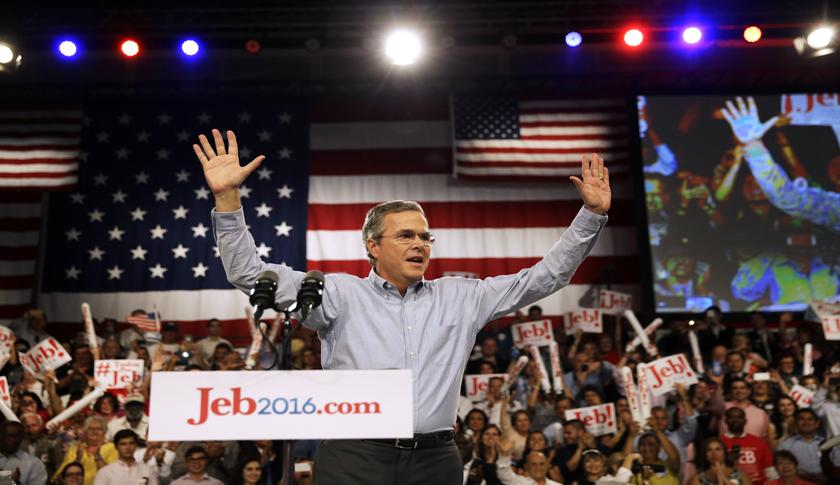 Jeb Bush launches his 2016 presidential campaign