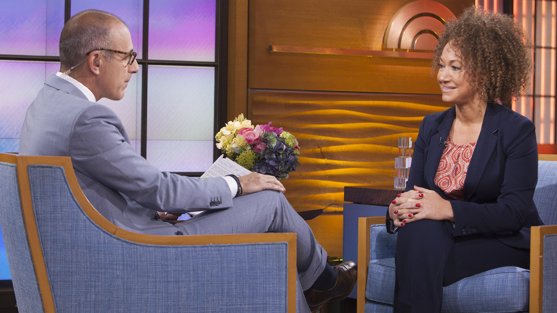 Matt Lauer interviews former NAACP leader Rachel Dolezal about allegations she lied about her race.