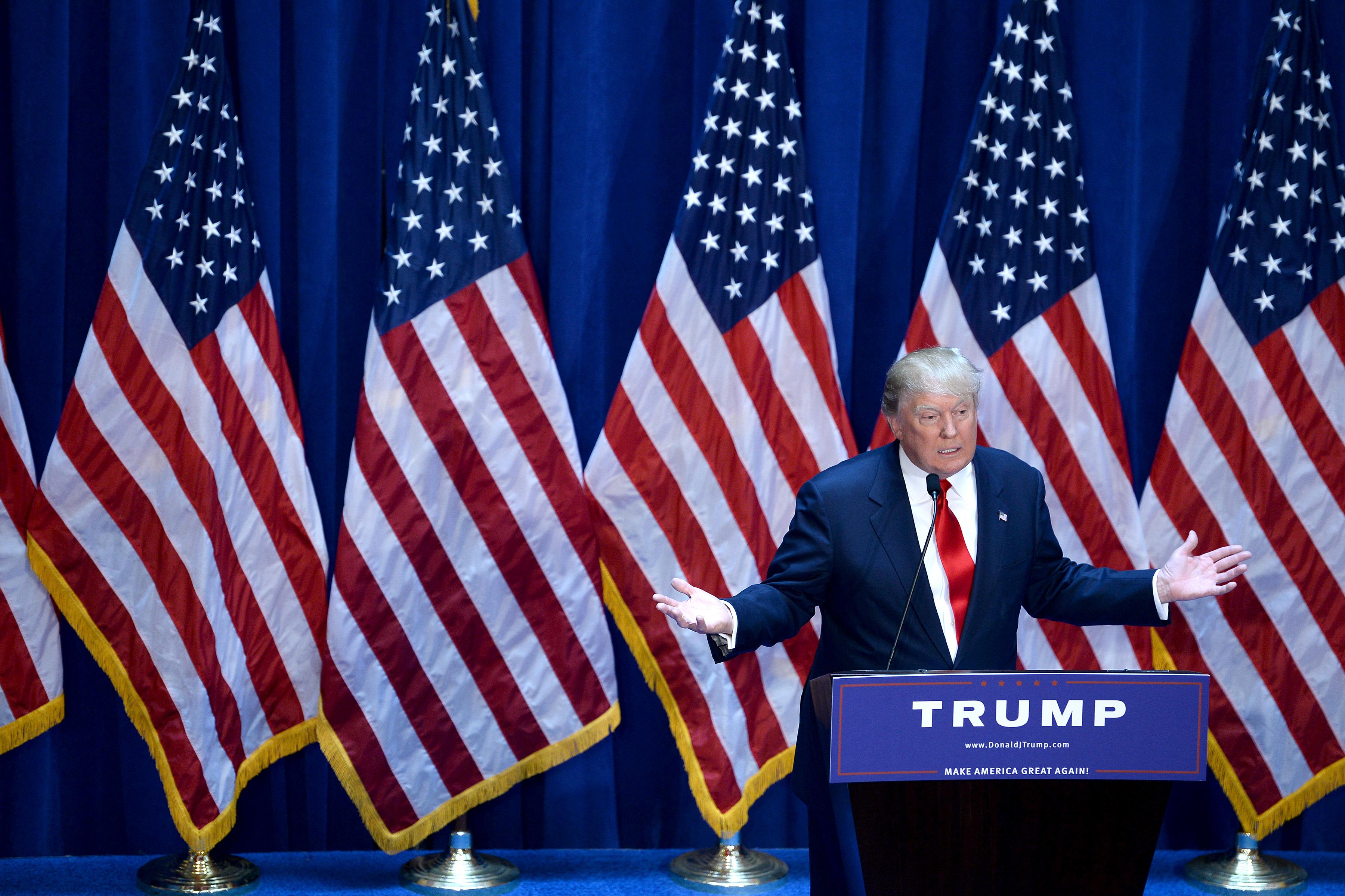 NY: Donald Trump Announces Presidential Run