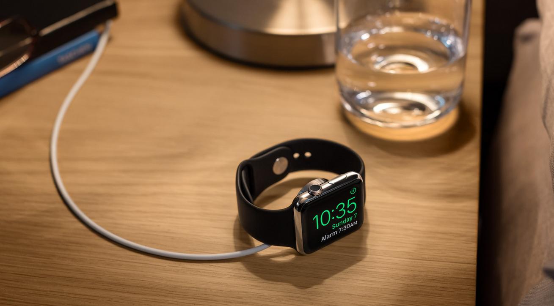 "Apple Watch ""Nightstand"" Mode"
